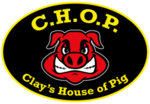 C.H.O.P. Clay's House of Pig Logo